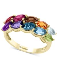 Effy Collection Effy® Multi-gemstone Marquise Statement Ring (2-3/4 Ct T.w.) In 14k Gold - Metallic