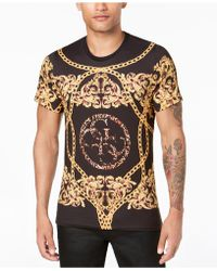 Guess - Baroque Graphic T-shirt - Lyst