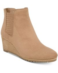 Dr. Scholls - Critic Wedge Booties - Lyst
