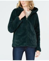 Style & Co. - Petite Faux-fur Hooded Jacket, Created For Macy's - Lyst