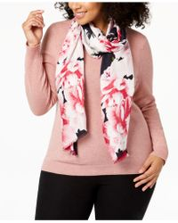 INC International Concepts - I.n.c. Painted Dusk Floral Wrap & Scarf In One, Created For Macy's - Lyst