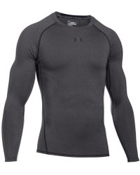 Under Armour - Men's Heatgear® Long-sleeve Compression Shirt - Lyst