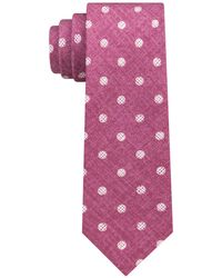 Michael Kors - Statement Dots Slim Silk Tie - Lyst