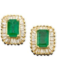 Effy Collection - Emerald (1 Ct. T.w.) And Diamond (5/8 Ct. T.w.) In 14k Gold - Lyst