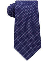 Michael Kors - Men's Mini Grid Silk Tie - Lyst