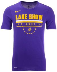 517a1c0d04c Nike Kyle Kuzma Los Angeles Lakers Icon Player T-shirt in Yellow for ...