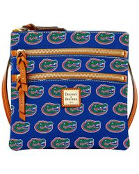 Dooney & Bourke - Florida Gators Triple-zip Crossbody Bag - Lyst