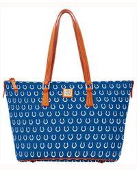 Dooney & Bourke - Indianapolis Colts Zip Top Shopper - Lyst