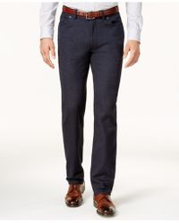 Vince Camuto - Men's Slim-fit Stretch Trousers - Lyst