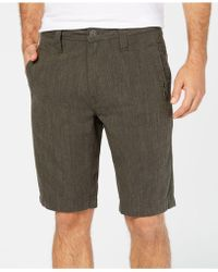 INC International Concepts - Flat-front Stretch Shorts, Created For Macy's - Lyst