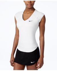 Nike - Pure Dri-fit Tennis Top - Lyst