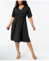 Charter Club - Plus Size Semi-fitted Midi Dress, Created For Macy's - Lyst