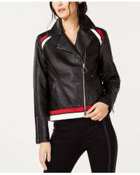 INC International Concepts - I.n.c. Faux-leather Moto Jacket, Created For Macy's - Lyst
