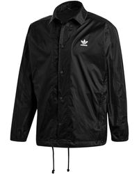 adidas - Trefoil Adicolor Coach's Jacket - Lyst