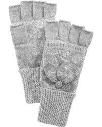 INC International Concepts - Metallic Pop-top Gloves - Lyst