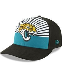 c133414a0ef Lyst - KTZ Jacksonville Jaguars Draft Low Profile 59fifty Fitted Cap ...