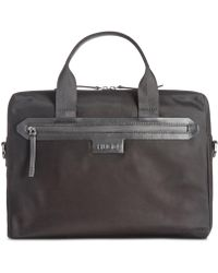 BOSS - Stone Single Document Case - Lyst