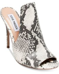 Sinful Snake Print Dress Mules cBitYj5Y