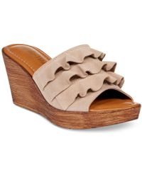 Bella Vita - Bey-italy Wedge Sandals - Lyst