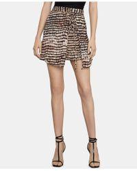 b54f40ce9 BCBGMAXAZRIA Kimberly Ruffle A-line Skirt in Black - Lyst