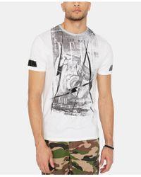 Buffalo David Bitton - Taberty Graphic T-shirt - Lyst
