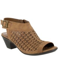 e59b729b473 Lyst - MICHAEL Michael Kors Jill Espadrille Wedge Sandals in Brown