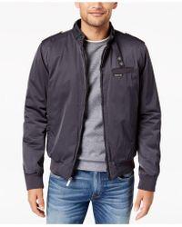 Members Only - Men's Classic Zip-front Jacket - Lyst
