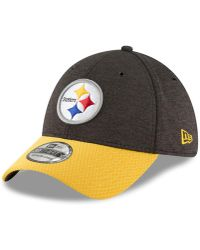 timeless design ac89a 75dcc KTZ Pittsburgh Steelers Super Bowl 50 Edge 9fifty Snapback Cap in Metallic  for Men - Lyst