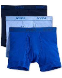 2xist - Underwear, Essentials Boxer Brief 3 Pack - Lyst