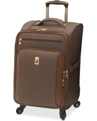 "London Fog - Kensington 21"" Softside Carry On Spinner Suitcase - Lyst"
