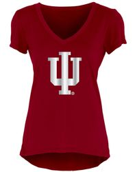 Blue 84 - Women's Indiana Hoosiers Big Foil T-shirt - Lyst