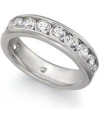 Macy's - Diamond Channel Band (2 Ct. T.w.) In 14k Gold Or White Gold - Lyst