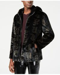 INC International Concepts - Carti Printed Faux-fur Coat, Created For Macy's - Lyst