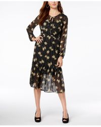 Maison Jules - Floral-print Midi Dress, Created For Macy's - Lyst