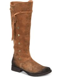 Born - Anzer Tall Suede Boots - Lyst
