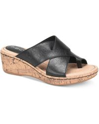 b.ø.c. - Summer Wedge Sandals - Lyst
