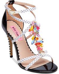 Betsey Johnson - Clarice Dress Sandals - Lyst