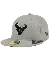 bd24b1a7956 Lyst - KTZ Houston Texans Training Camp Reverse Bucket Hat in Blue ...