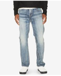 Silver Jeans Co. - Eddie Relaxed Tapered Jeans - Lyst