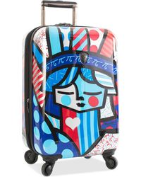 "Heys - Britto Freedom 21"" Carry-on Expandable Hardside Spinner Suitcase - Lyst"