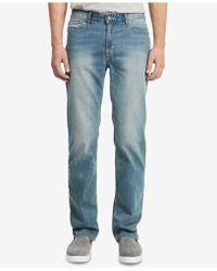 Calvin Klein - Straight Fit Jeans - Lyst
