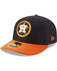 buy popular c554a 19d29 KTZ Houston Astros Mothers Day Low Profile 59fifty Fitted Cap in Pink for  Men - Lyst