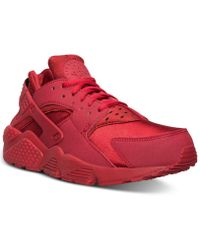 innovative design 1aef7 54a22 Nike - Air Huarache Run Running Sneakers From Finish Line - Lyst