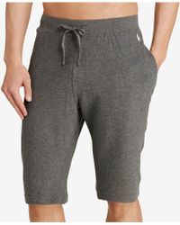 Polo Ralph Lauren - Waffle-knit Pajama Shorts - Lyst
