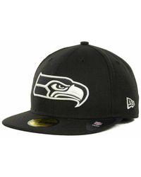 the latest b0837 3d1d0 KTZ Logo Whiz Seattle Seahawks Black Team in Blue for Men - Lyst