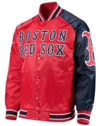 3c87e27b7 Starter Boston Celtics Exclusive Track Jacket in Green for Men - Lyst