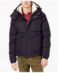Superdry - Men's Sd Expedition Puffer Coat With Removable Fleece-lined Hood - Lyst