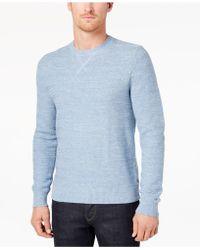 Tommy Hilfiger - Men's Textured Stripe Sweater - Lyst