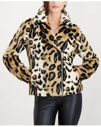 INC International Concepts - I.n.c. Petite Faux-fur Moto Jacket, Created For Macy's - Lyst