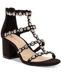 INC International Concepts - I.n.c. Helmi Block-heel Sandals, Created For Macy's - Lyst